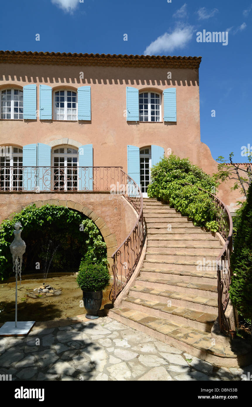 Château Vignelaure Bastide & Country House or Wine Estate Rians Provence France - Stock Image