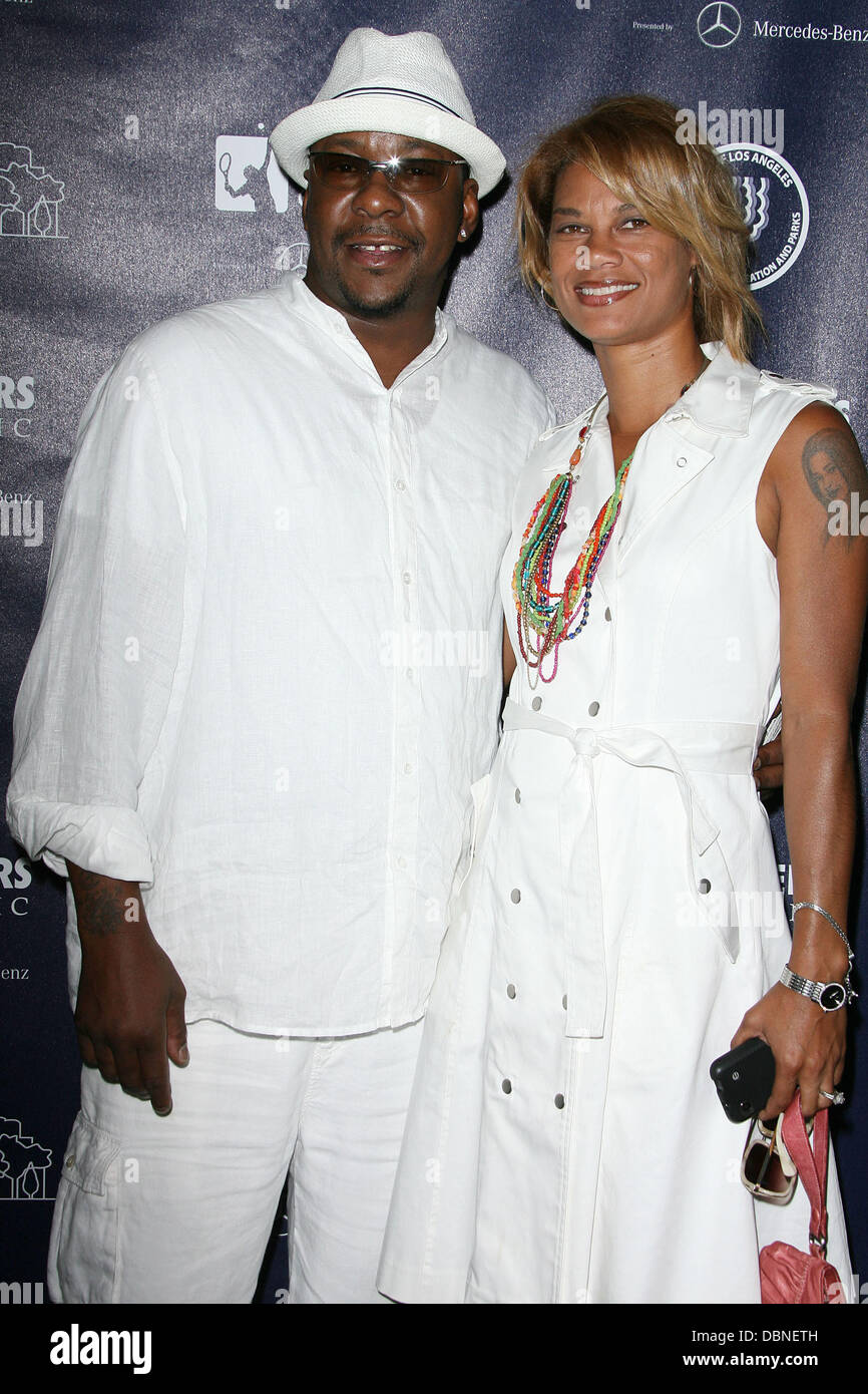 Bobby Brown and wife Alicia Etheridge ...