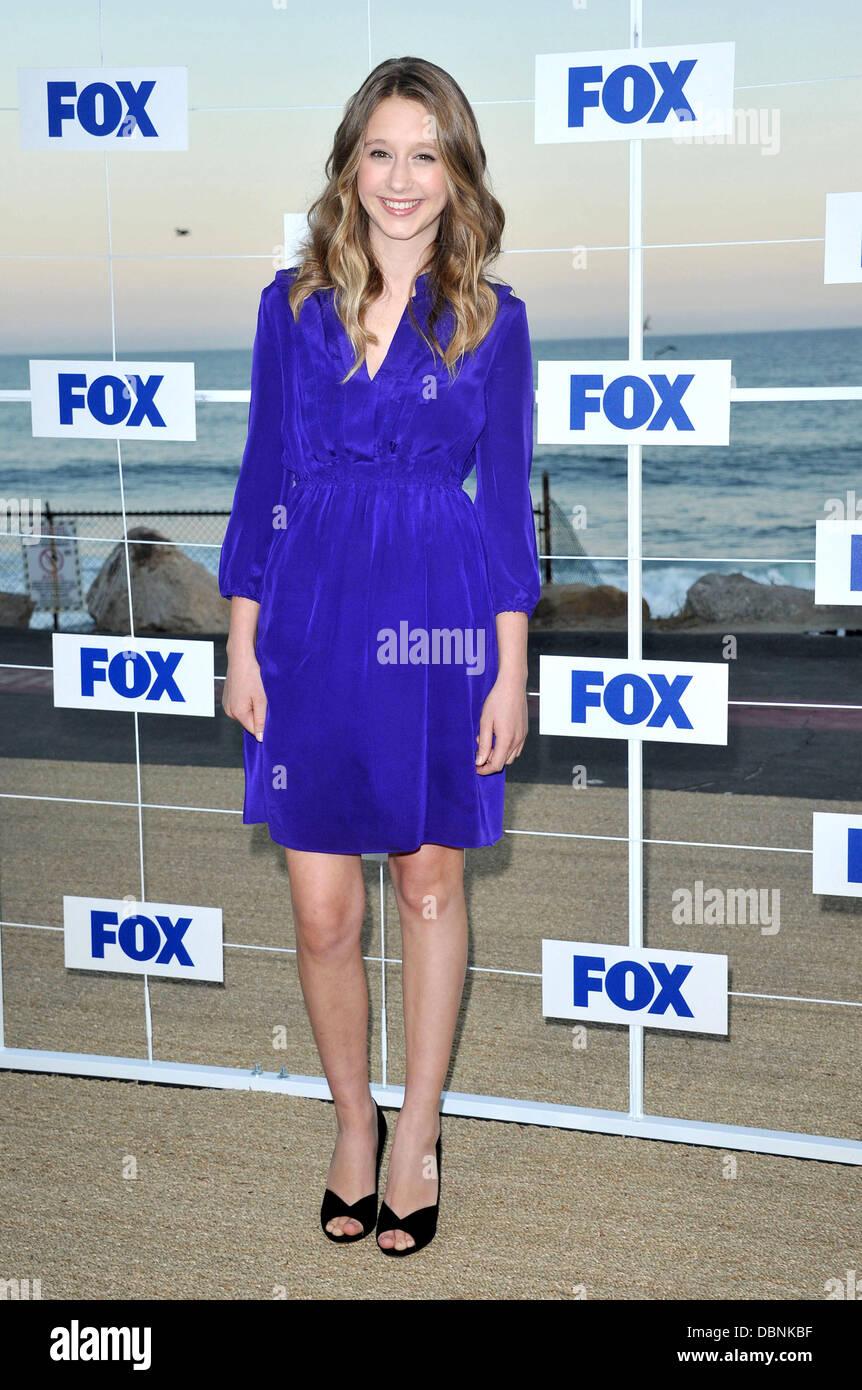 Taissa Farmiga 2011 Fox All Star Party at Gladstone's Malibu - Arrivals Los Angeles, California - 05.08.11 - Stock Image