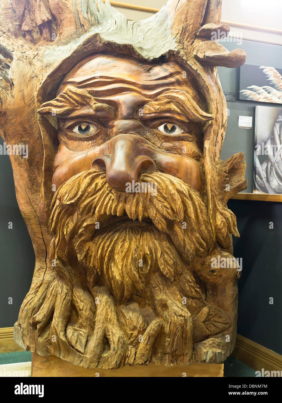Green man carving wood stock photos green man carving wood stock