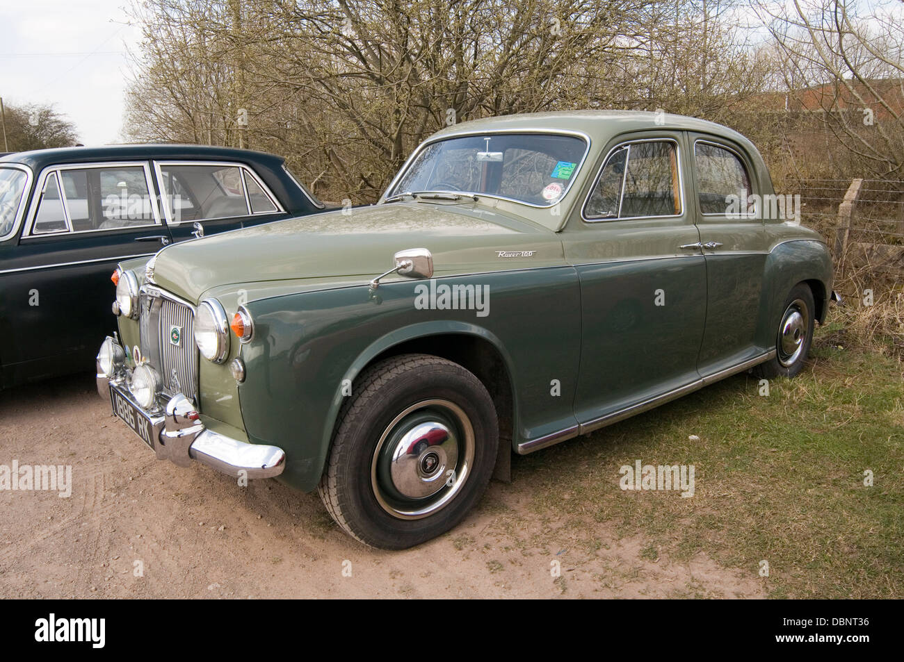 Rover P4 Classic Car Cars British English Old Family