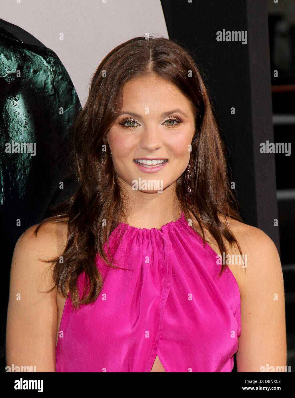 Ellen Wroe The LA Premiere of 'Final Destination 5' held at Grauman's Chinese Theatre Hollywood, California - Stock Image