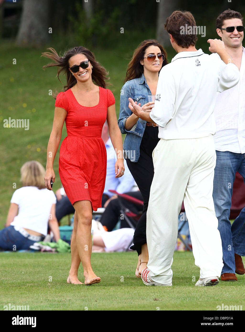 Pippa Middleton And Her Boyfriend Alex Loudon At The