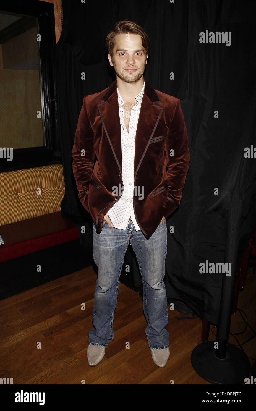 TJ Linnard from The Guiding Light  Opening night after party for the Off-Broadway production of 'Tricks the - Stock Image