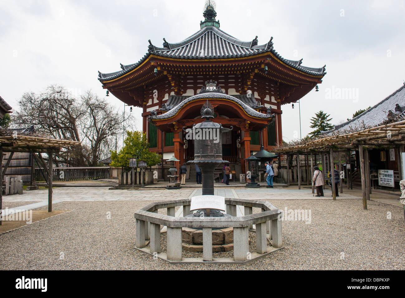 Nan'endo (Southern Octagonal Hall), Kofukuji Temple, UNESCO World Heritage Site, Nara, Kansai, Japan, Asia - Stock Image