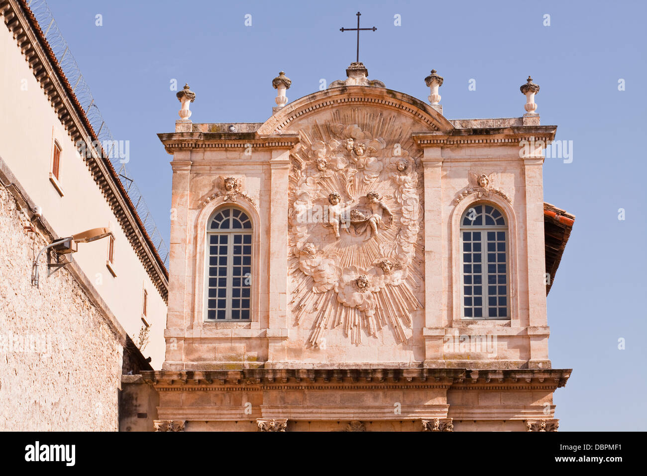 Chapelle Des Penitents Noirs de la Misericorde in the city of Avignon, Vaucluse, France, Europe - Stock Image