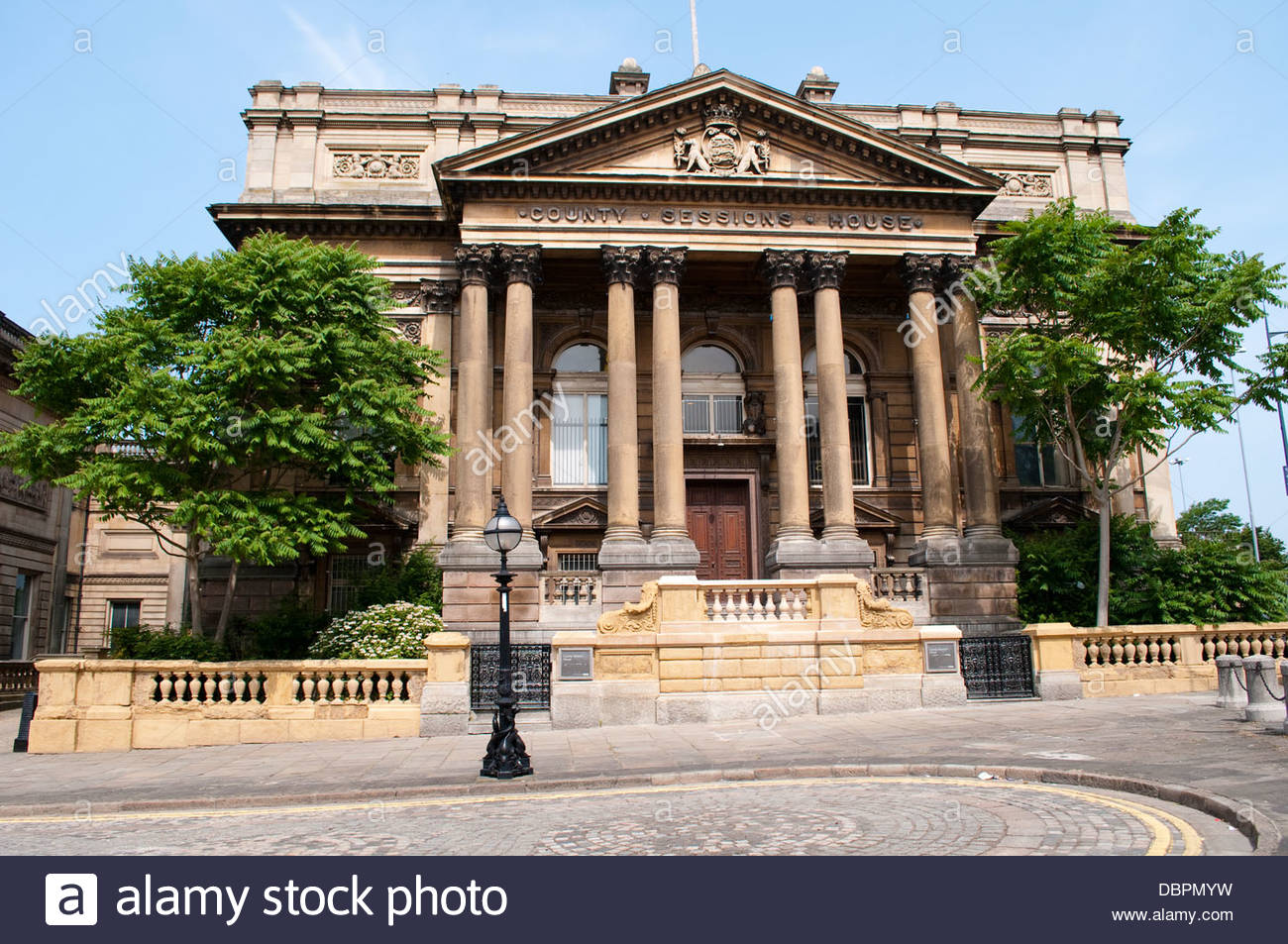 County Sessions House, Liverpool, UK - Stock Image
