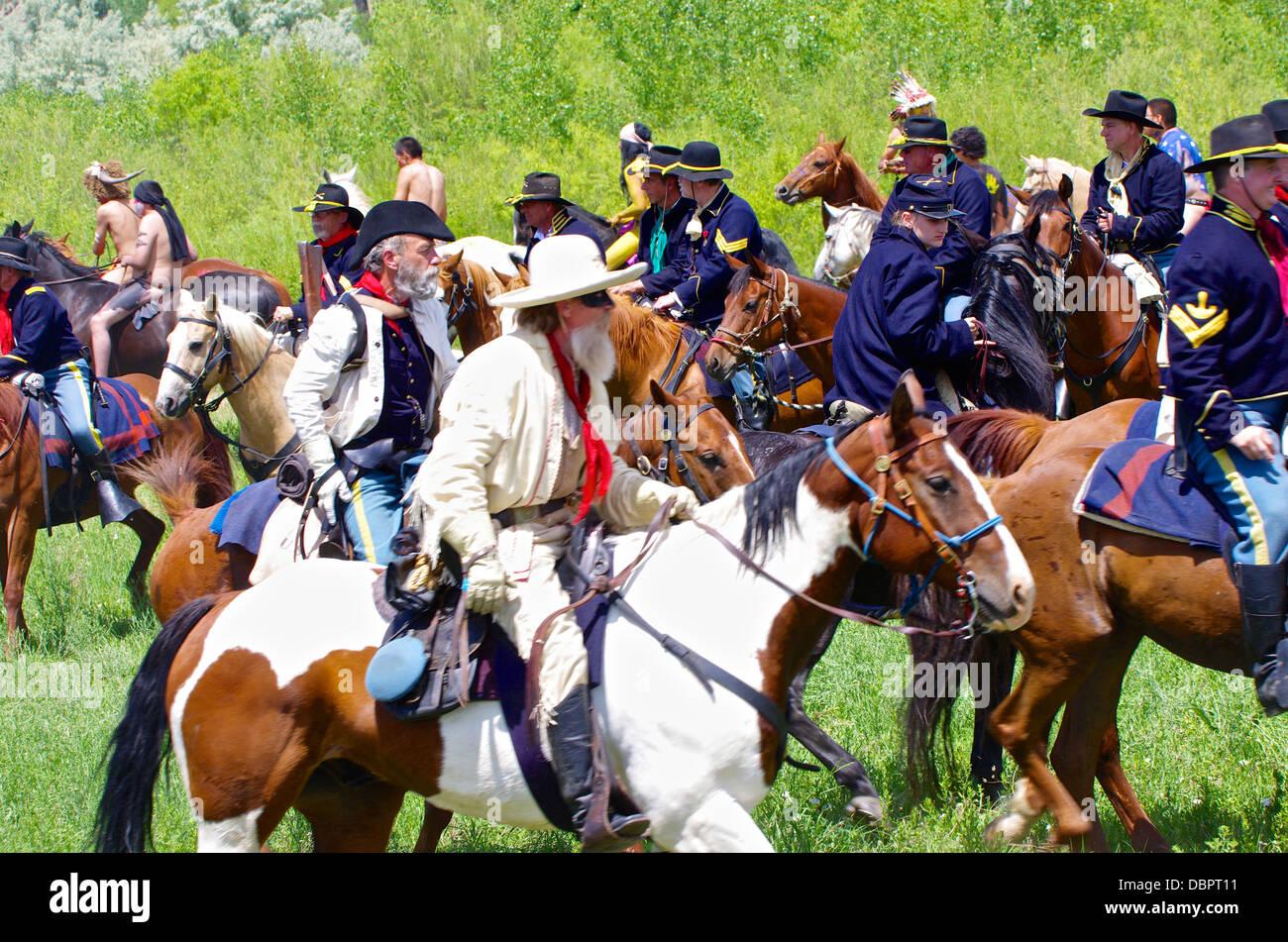 Custer - Stock Image