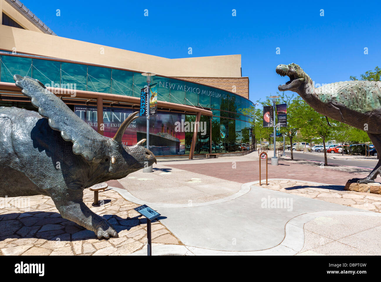 New Mexico Museum of Natural History and Science, Albuquerque, New Mexico, USA - Stock Image