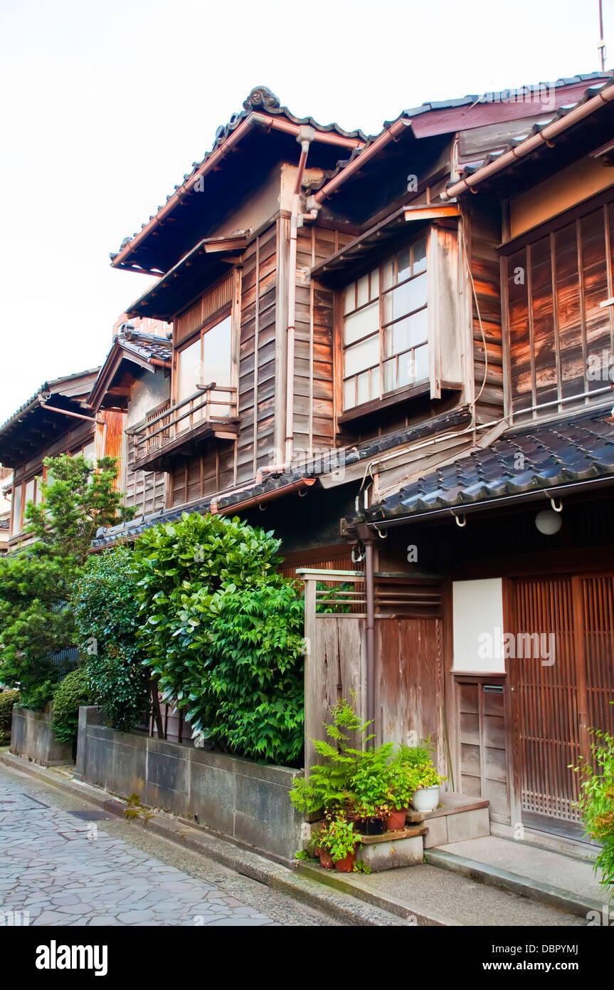 Nagamachi district in Kanazawa, Japan - Stock Image