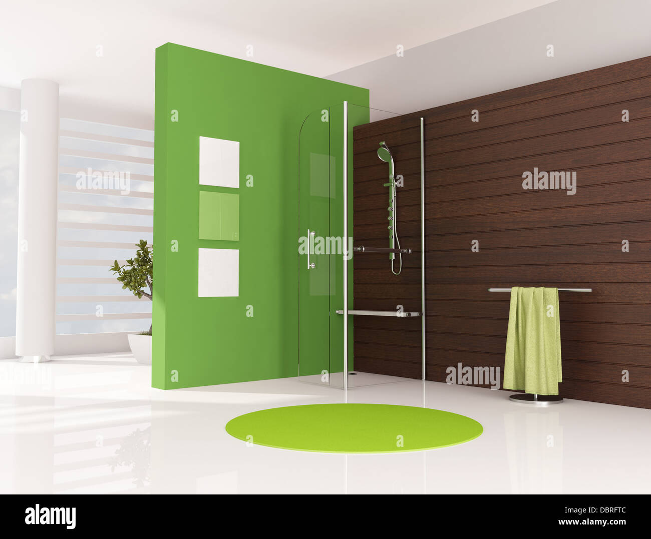 Funky Ative Bath Panels Vignette - Bathroom and Shower Ideas ...
