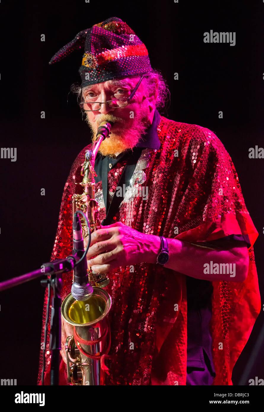 Sun Ra Arkestra during Warsaw Summer Jazz Days 2013 - Stock Image