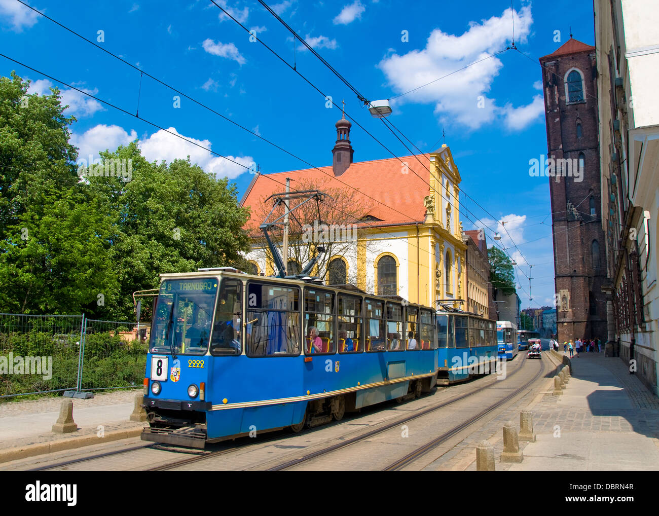 Tram, Wroclaw, Poland - Stock Image