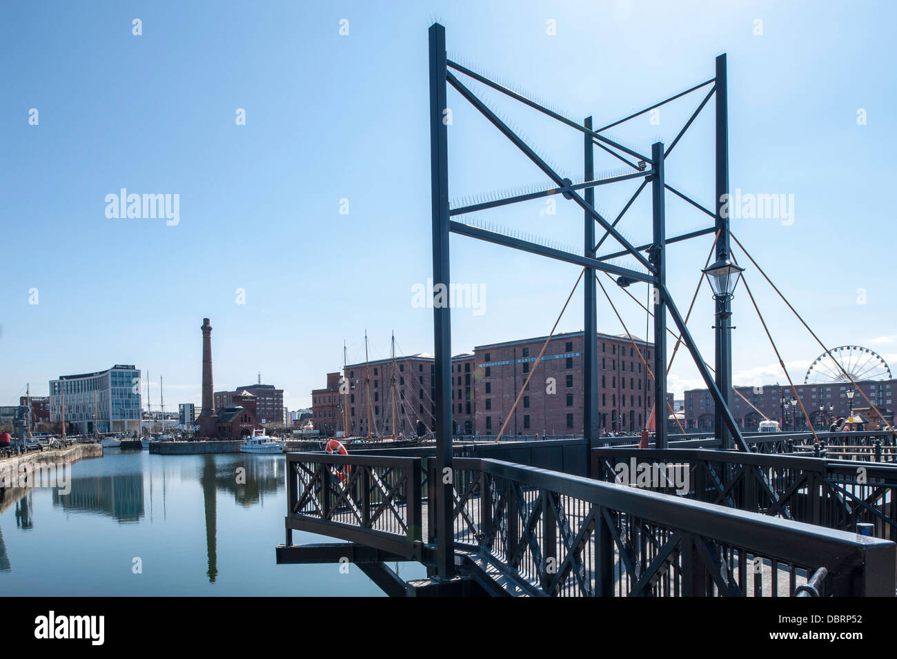 Albert Dock, Liverpool, Merseyside, United Kingdom - Stock Image