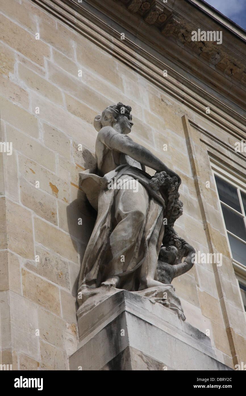 The Carnavalet Museum in Paris - Stock Image