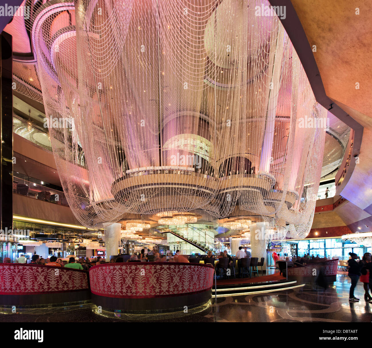 Chandelier bar at cosmopolitan hotel casino and resort city center chandelier bar at cosmopolitan hotel casino and resort city center las vegas nevada usa arubaitofo Image collections