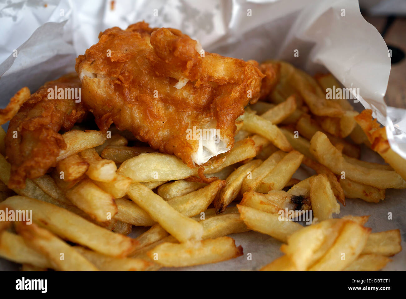 South african chips near stock photos south african for Fish chips near me