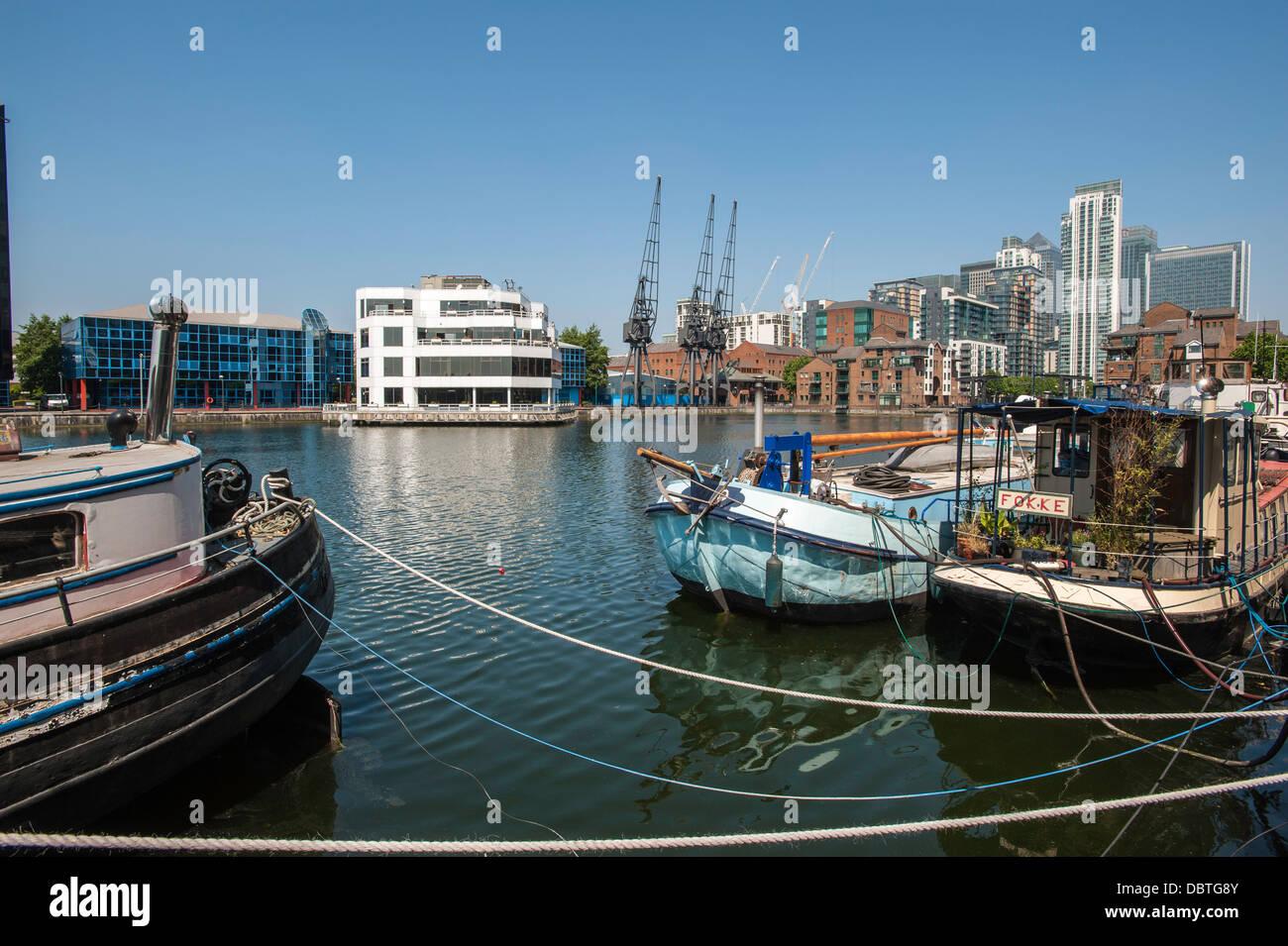 Docklands E14 England - Stock Image