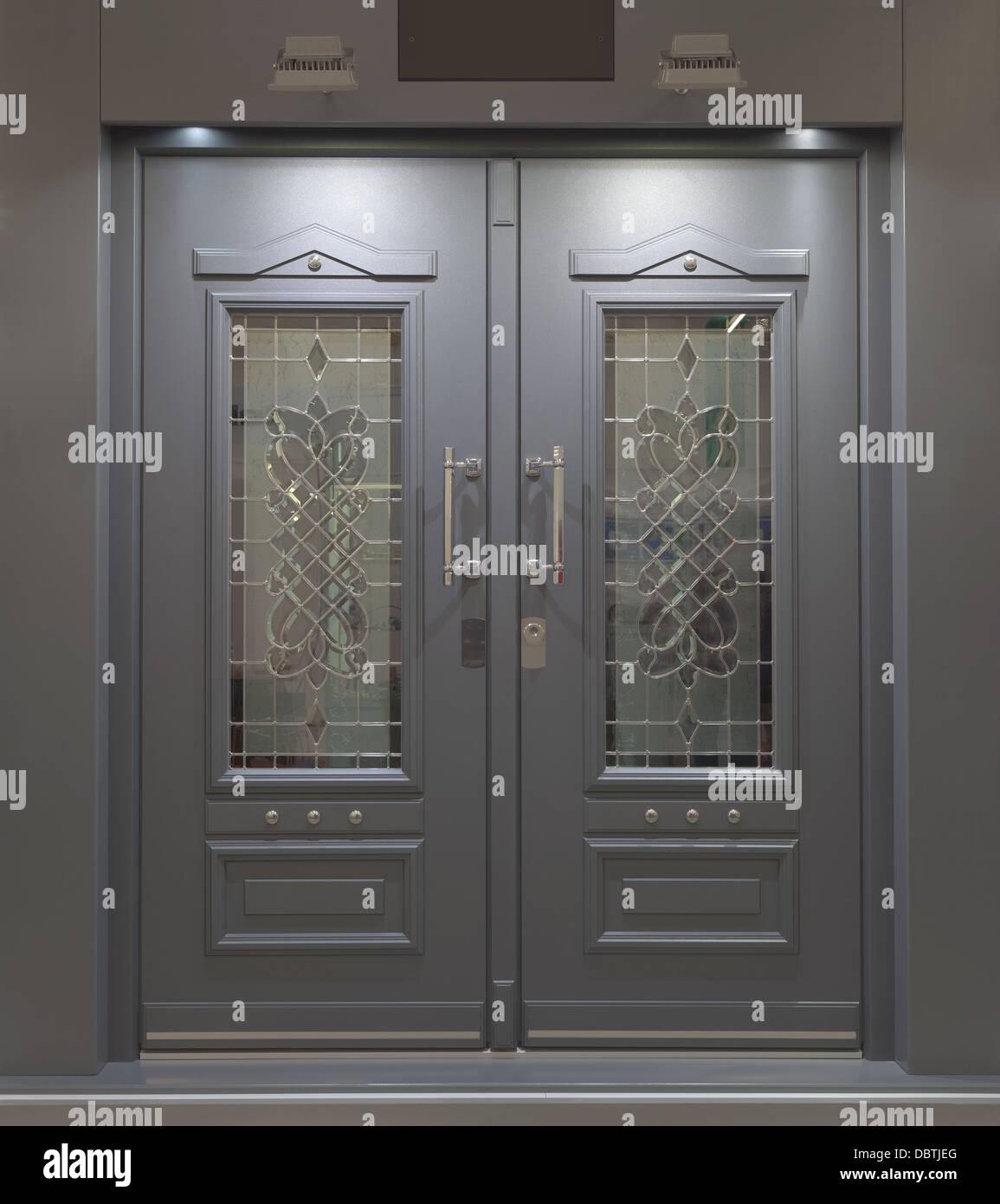 Aluminum Front Door Stock Photos Aluminum Front Door Stock Images