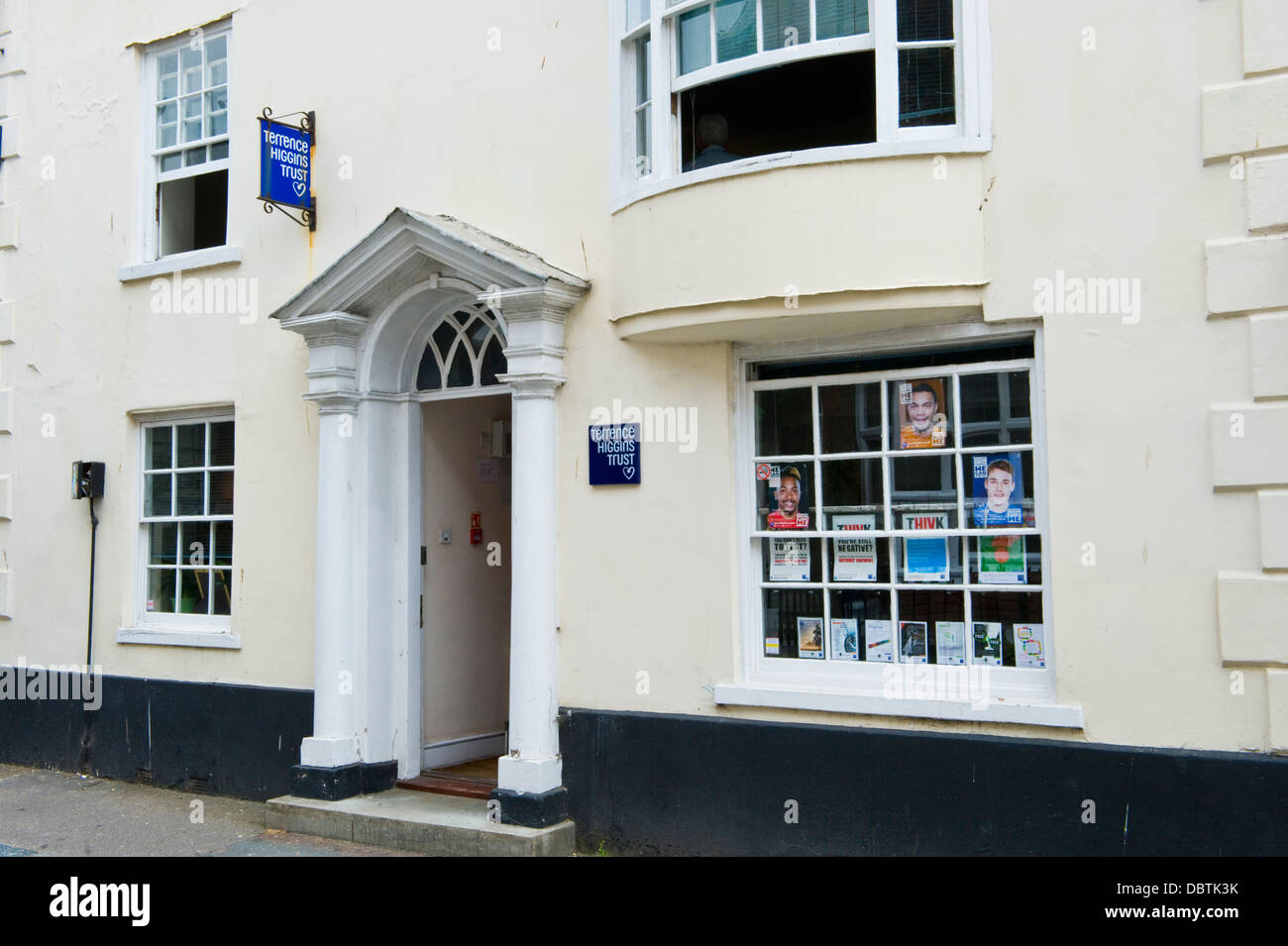 Exterior of the Terrence Higgins Trust office in Brighton East Sussex England UK - Stock Image