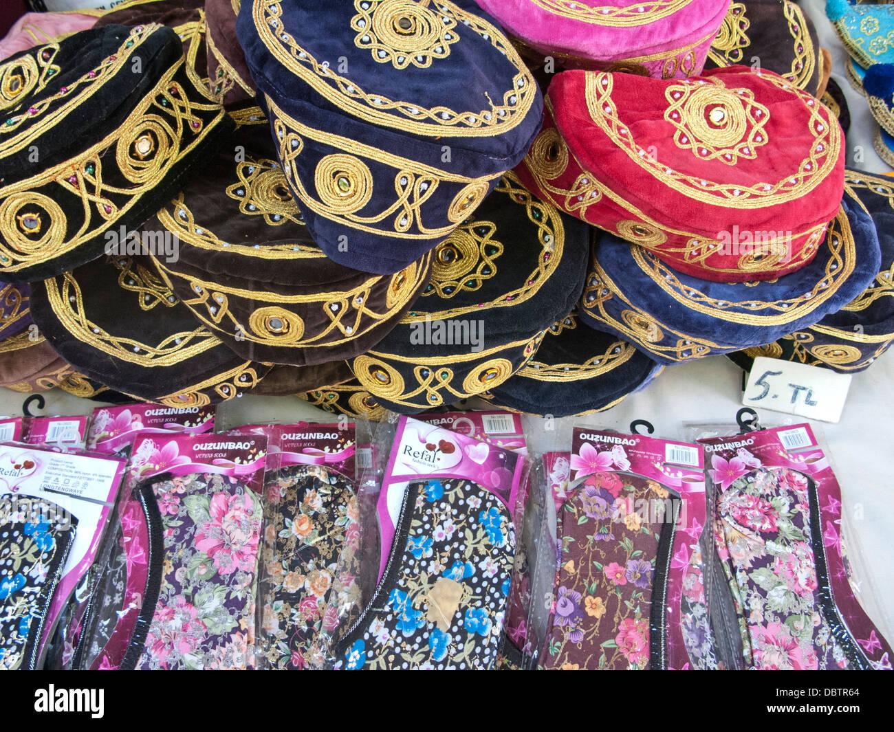 Turkish Slippers Stock Photos & Turkish Slippers Stock