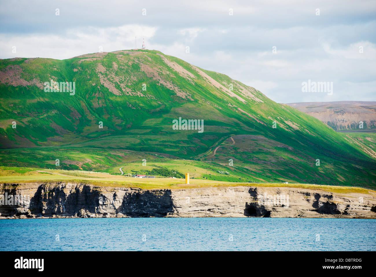 Husavik coast, Northern Region, Iceland, Polar Regions - Stock Image