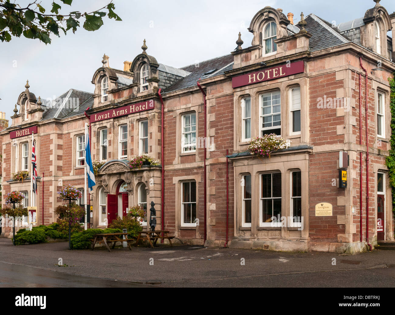 The Lovat Arms Hotel, Beauly near Inverness Scotland