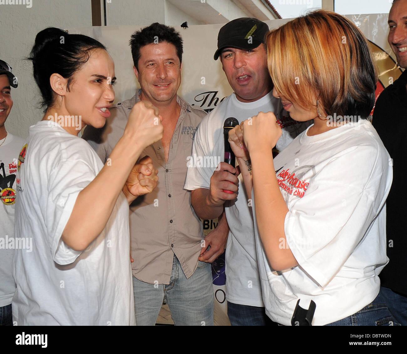 Nadya 'Octomom' Suleman and Celebrity Boxing promoter ...
