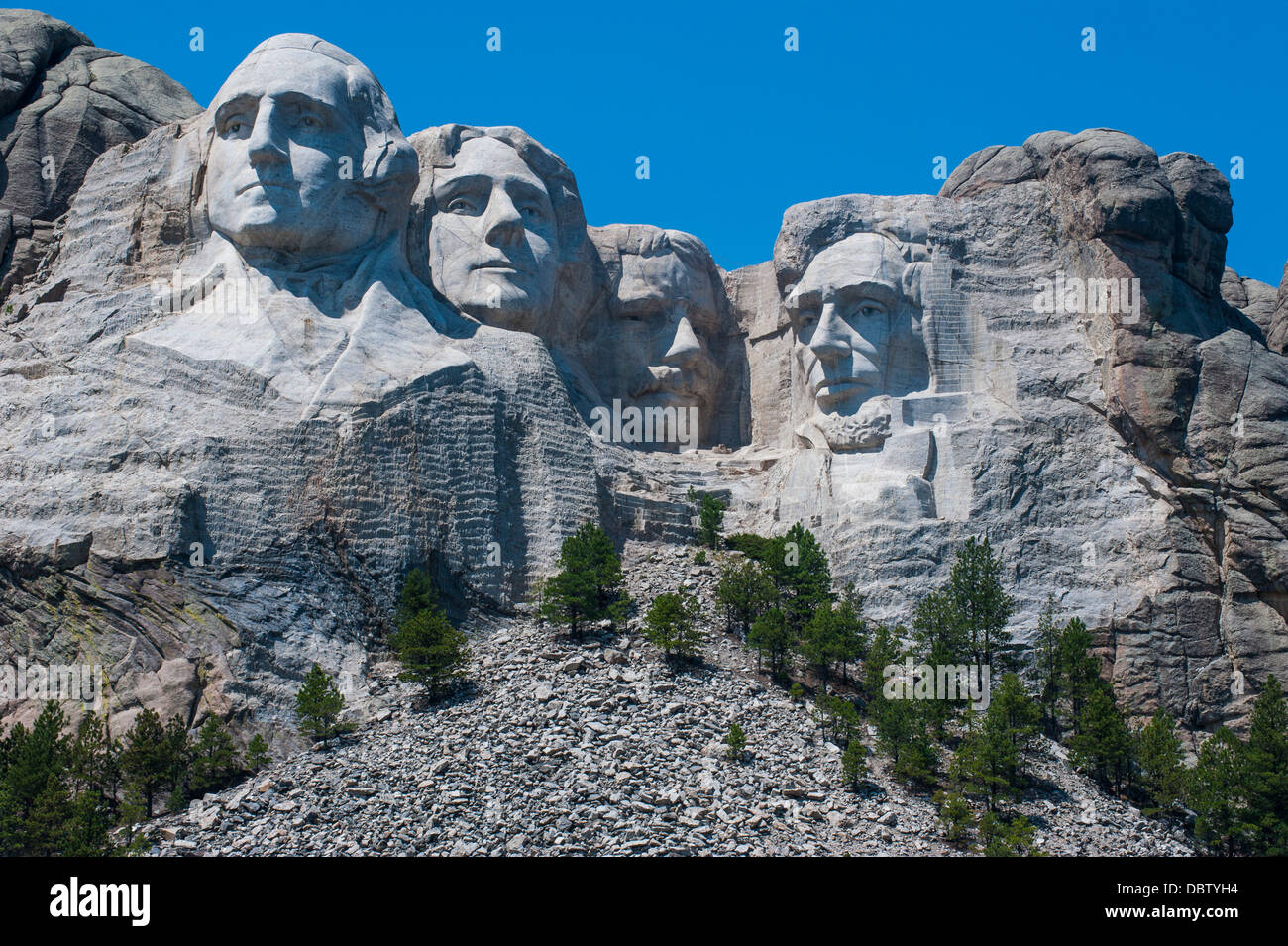 Mount Rushmore, South Dakota, United States of America, North America Stock Photo