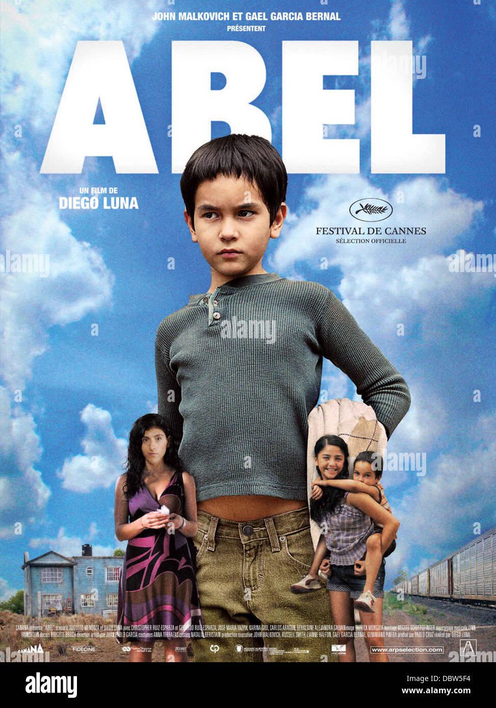 ABEL (POSTER)(2010) DIEGO LUNA (DIR) 002 MOVIESTORE COLLECTION LTD - Stock Image