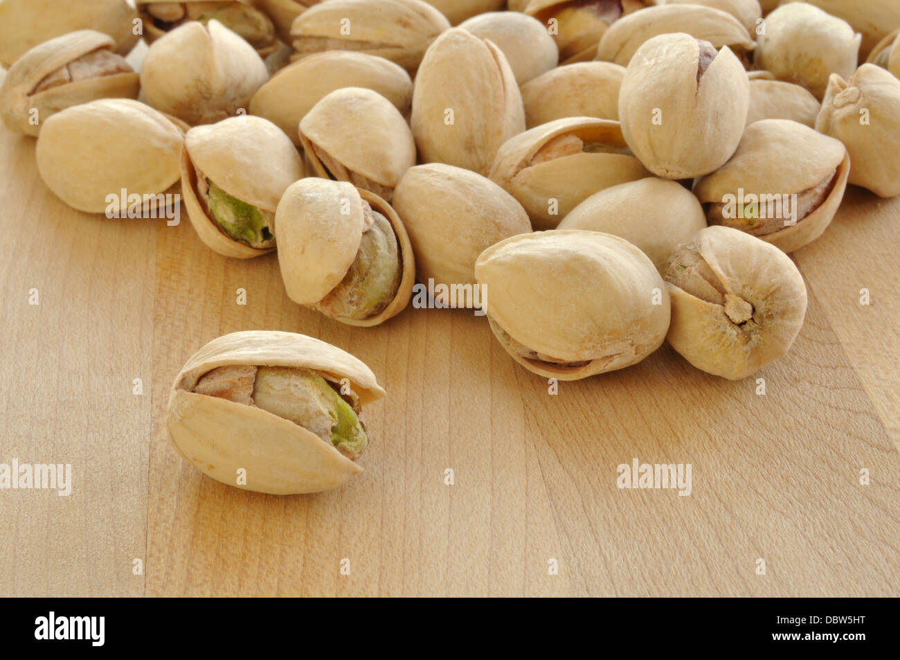 Pistachio nuts - Stock Image