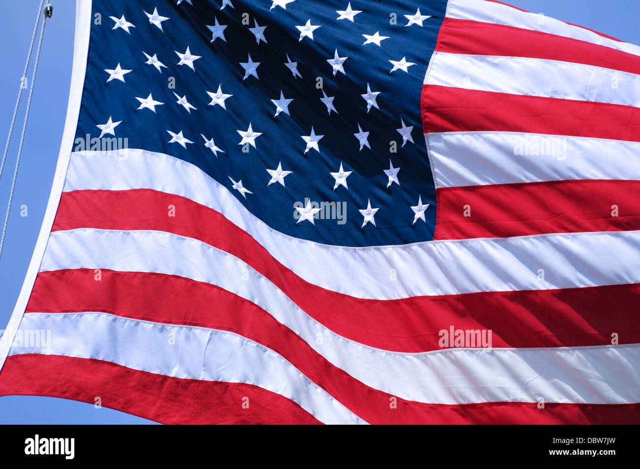 American Flag of the United States - Stock Image