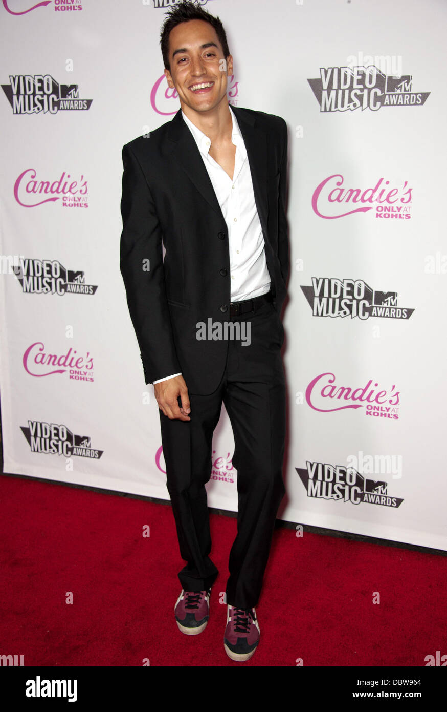 Michael Buckner      Candie's host The 2011 MTV VMA After Party at The Colony - Arrivals Los Angeles, California - Stock Image