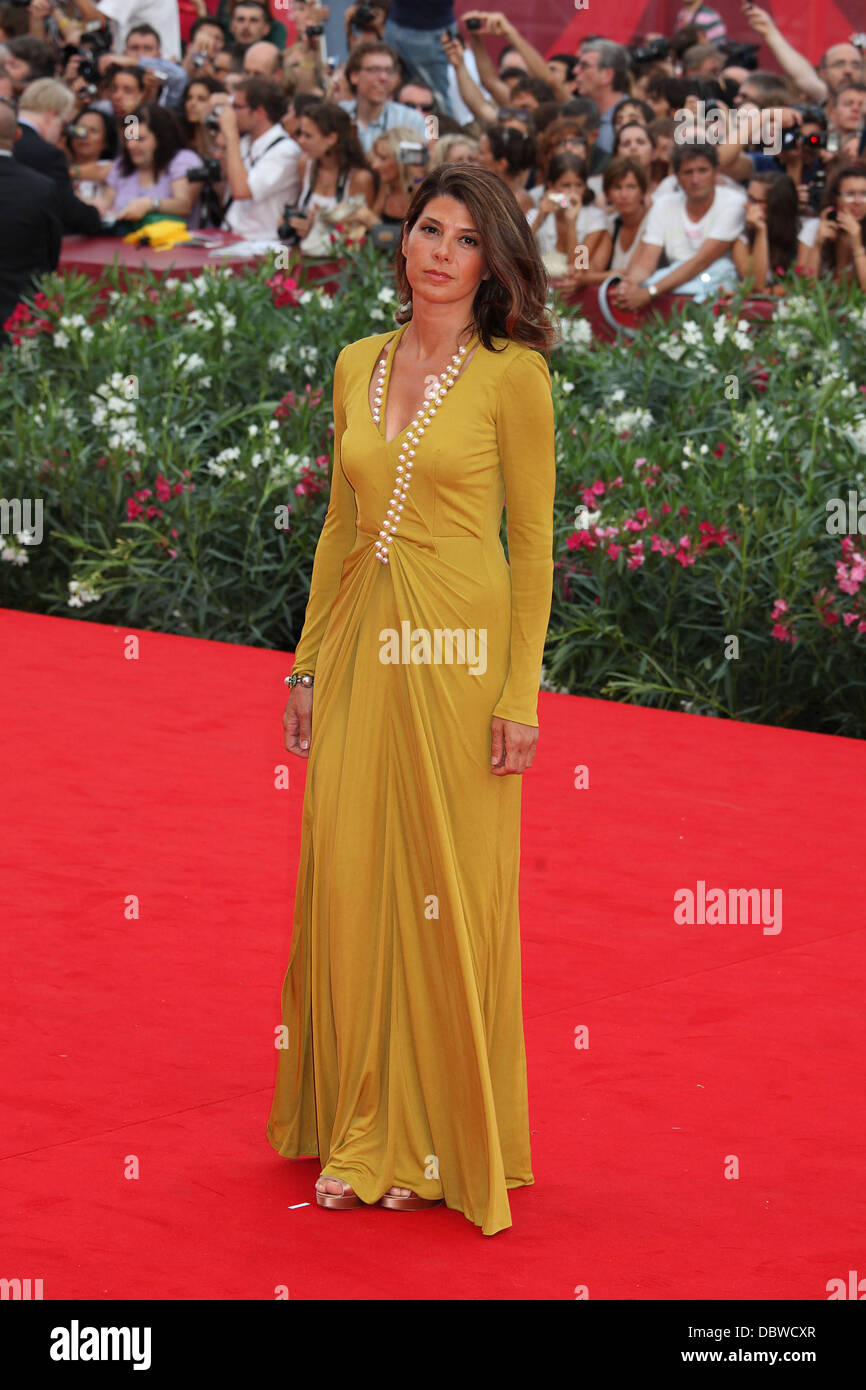 Marisa Tomei  68th Venice Film Festival - Day 1 - 'The Ides of March' - Red Carpet Venice, Italy - 31.08.11 - Stock Image