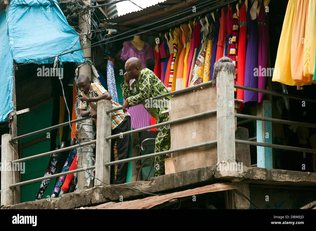 street scene, Lome, Togo - Stock Image