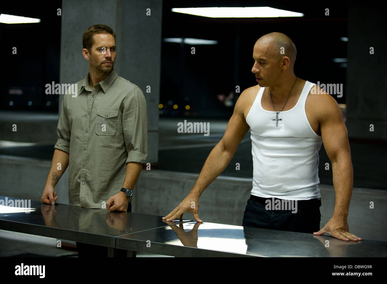FAST AND FURIOUS 6 (2013) VIN DIESEL, PAUL WALKER JUSTIN LIN (DIR) 001 MOVIESTORE COLLECTION LTD Stock Photo