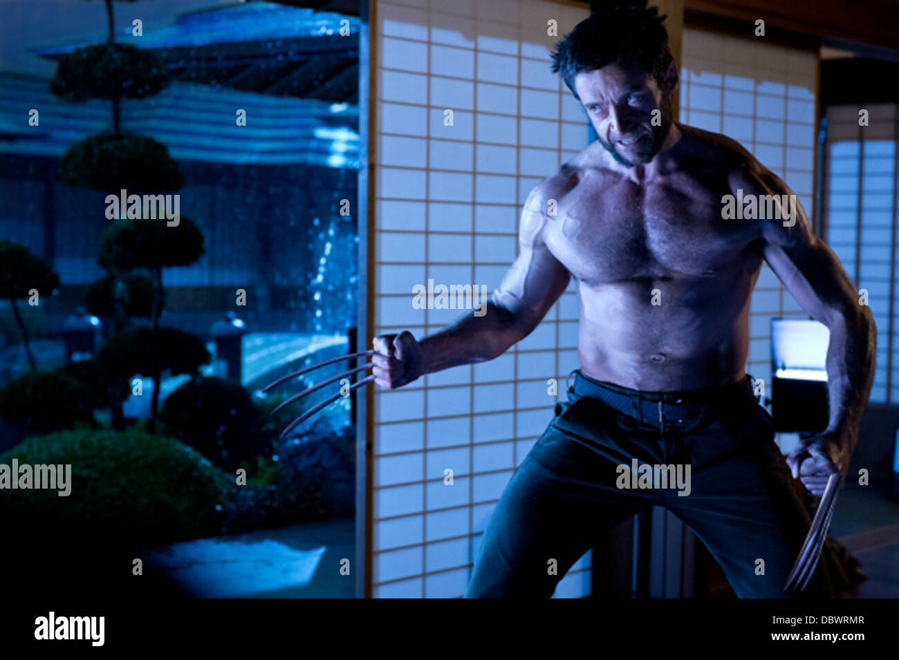THE WOLVERINE (2013) HUGH JACKMAN JAMES MANGOLD (DIR) 005 MOVIESTORE COLLECTION LTD - Stock Image