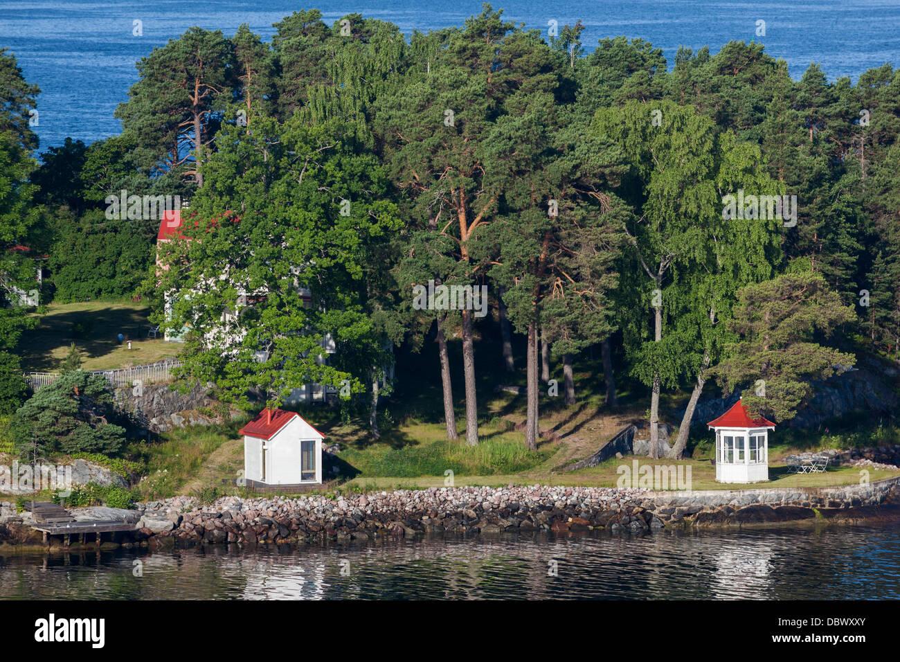Stockholm archipelago. Sweden. Stock Photo