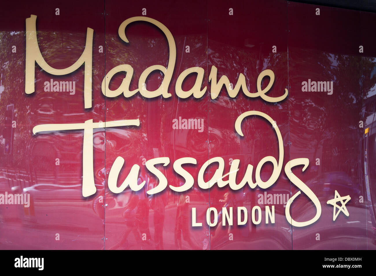 Madame Tussands Wax Works Museum, London; England; UK; - Stock Image