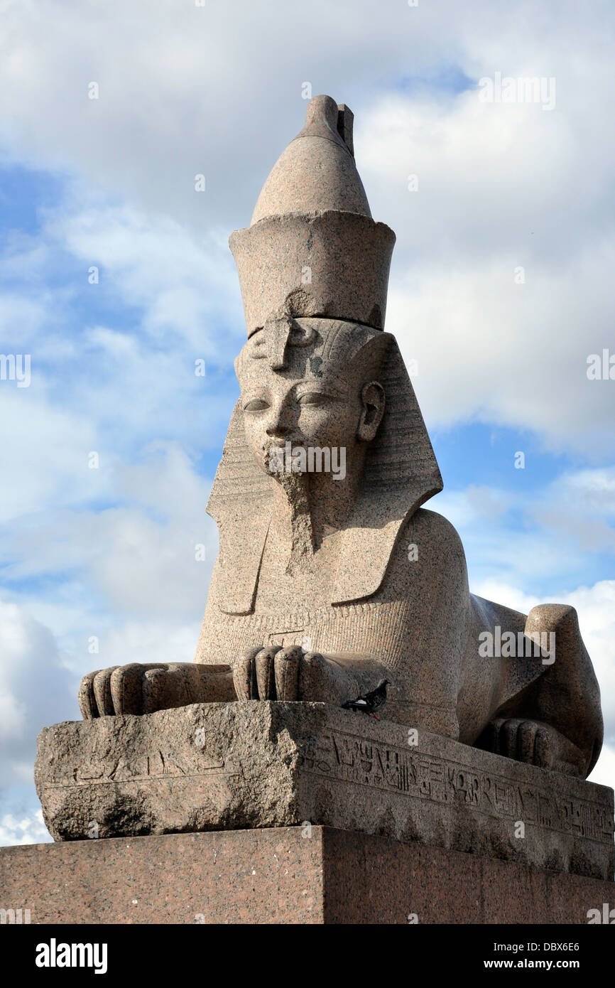 Sphinx in St. Petersburg: overview, description, history, location 78