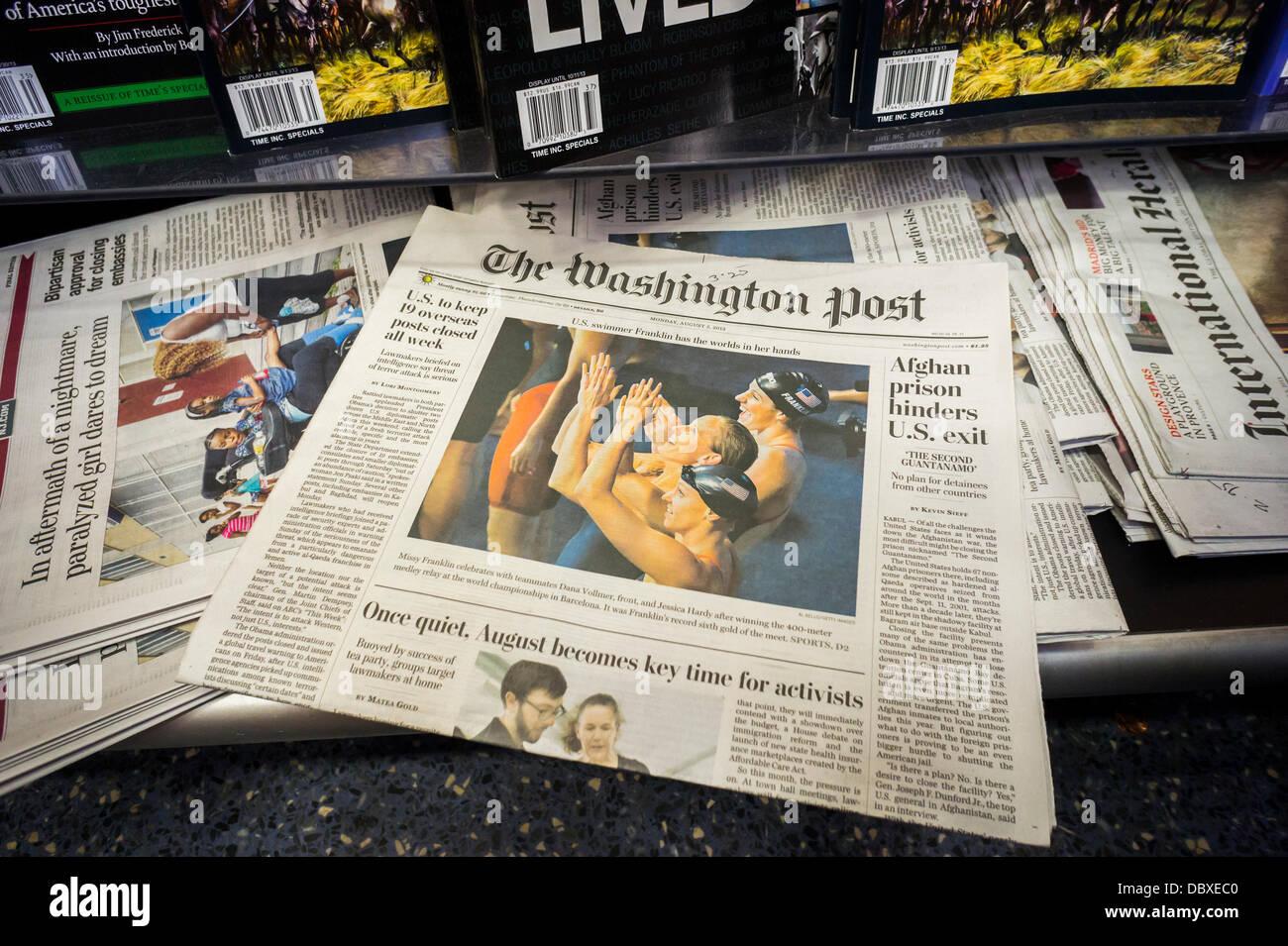 Washington post ipo price