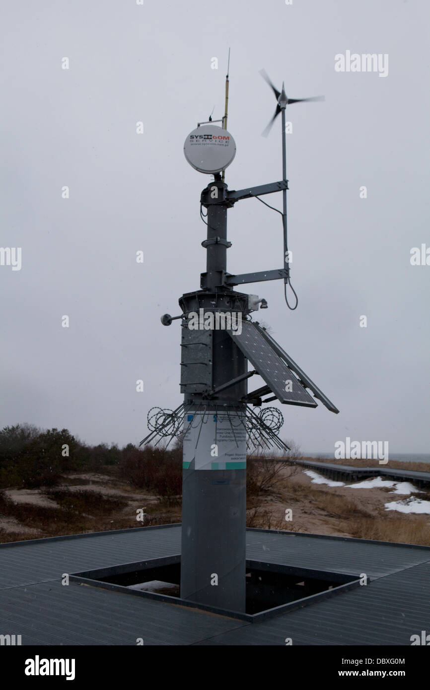 hel poland weather station baltic sea stock photo 58975636 alamy