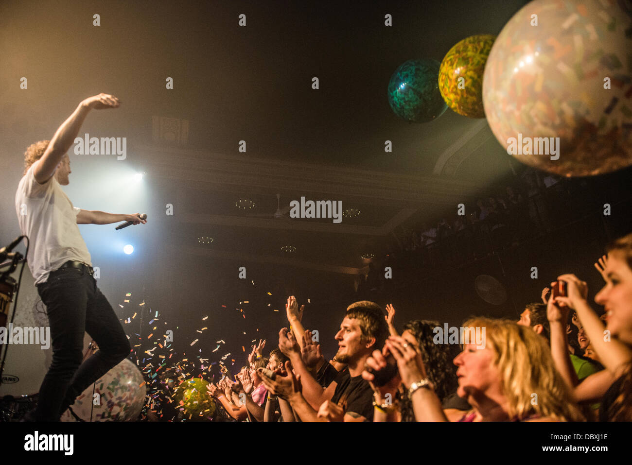 Imagine Dragons performing live at Metro in Chicago, IL - Stock Image