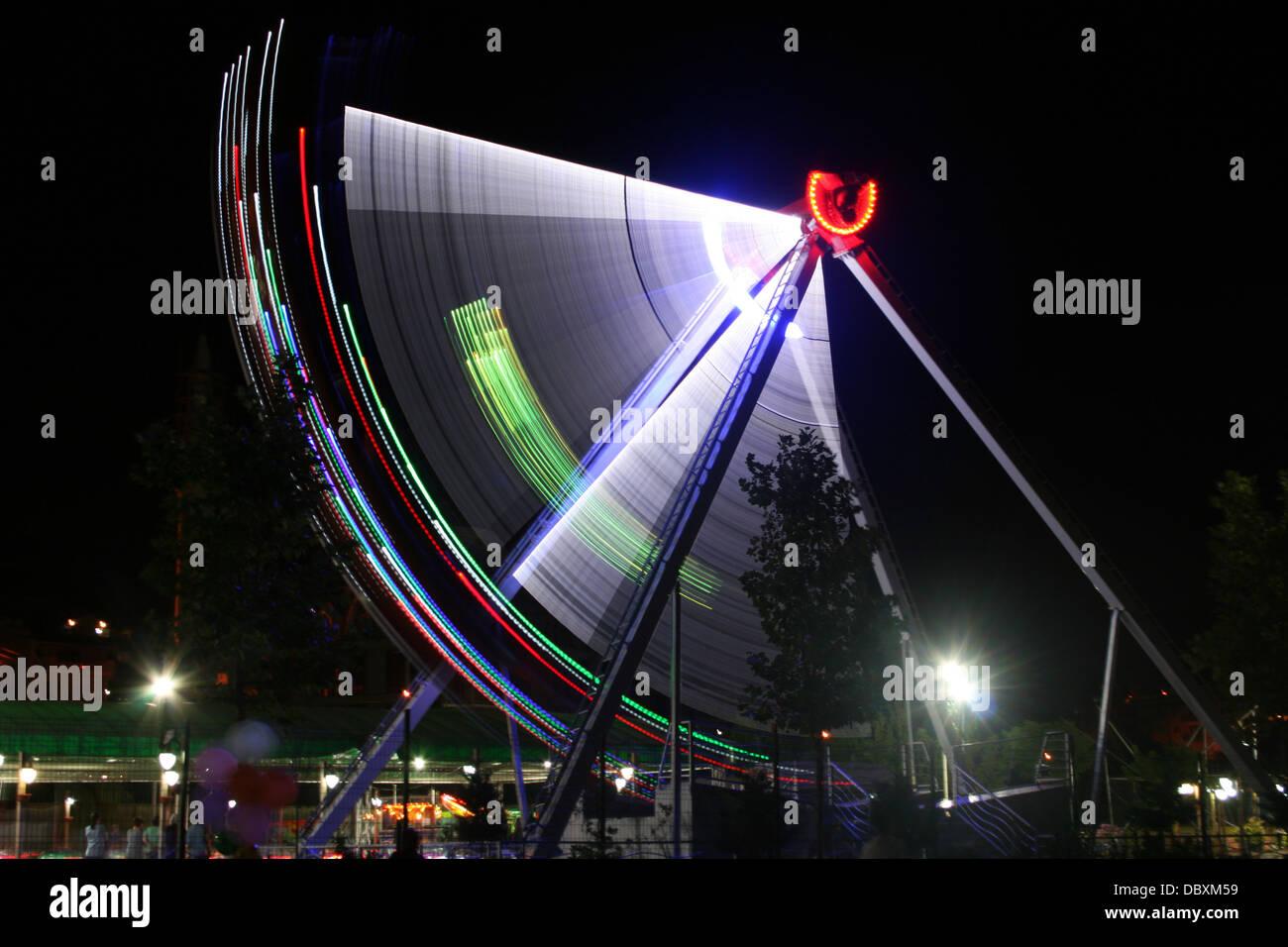 Gondola in Fun Fair Stock Photo