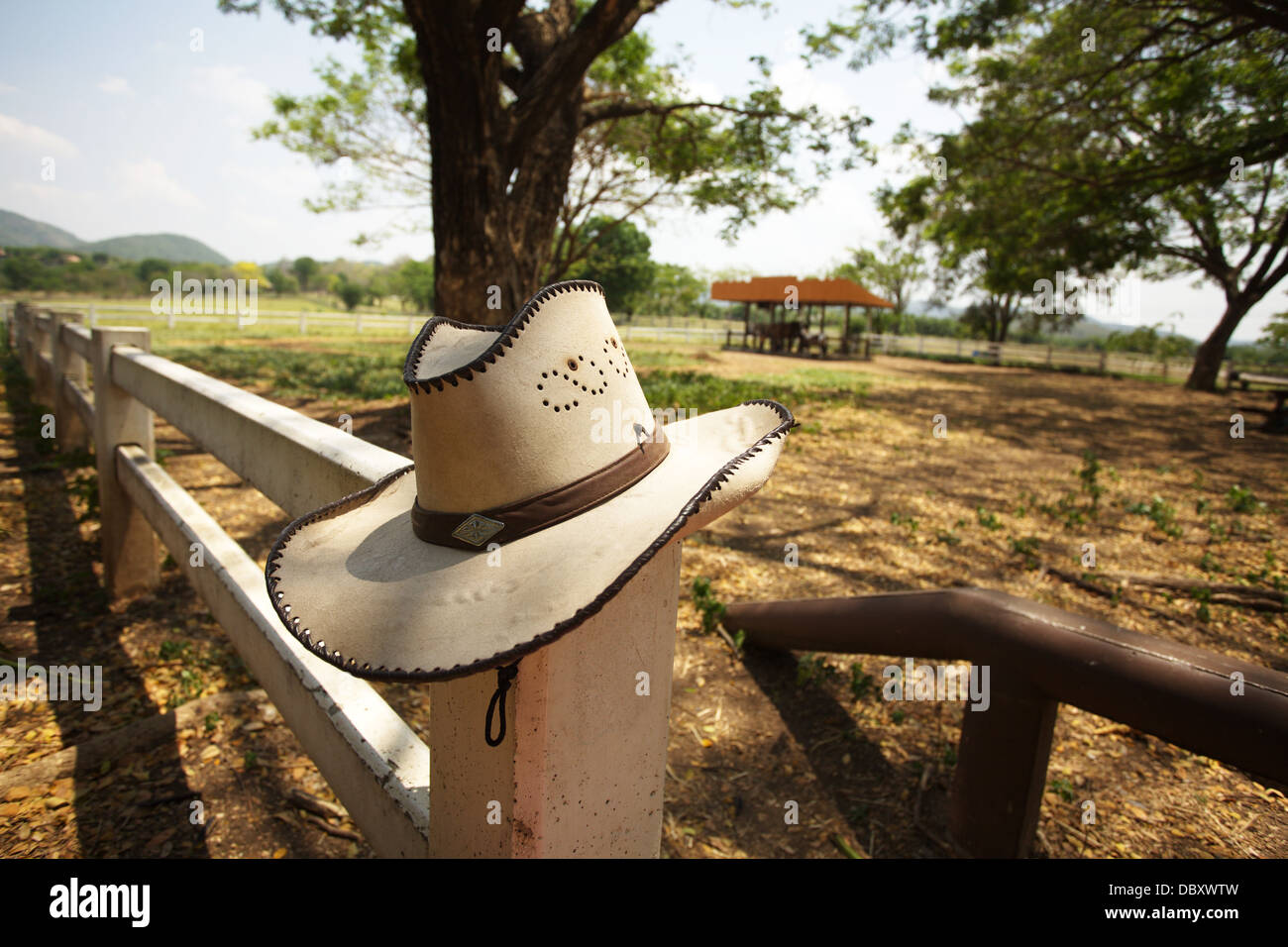 cowboy hat - Stock Image