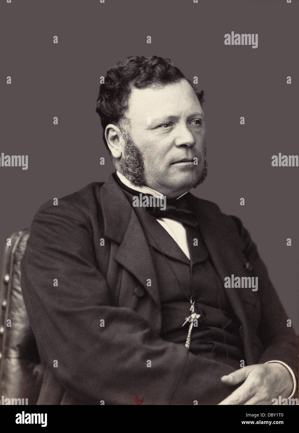 Ferdinand Barrot (1806 - 1883), french lawyer and politician. - Stock Image