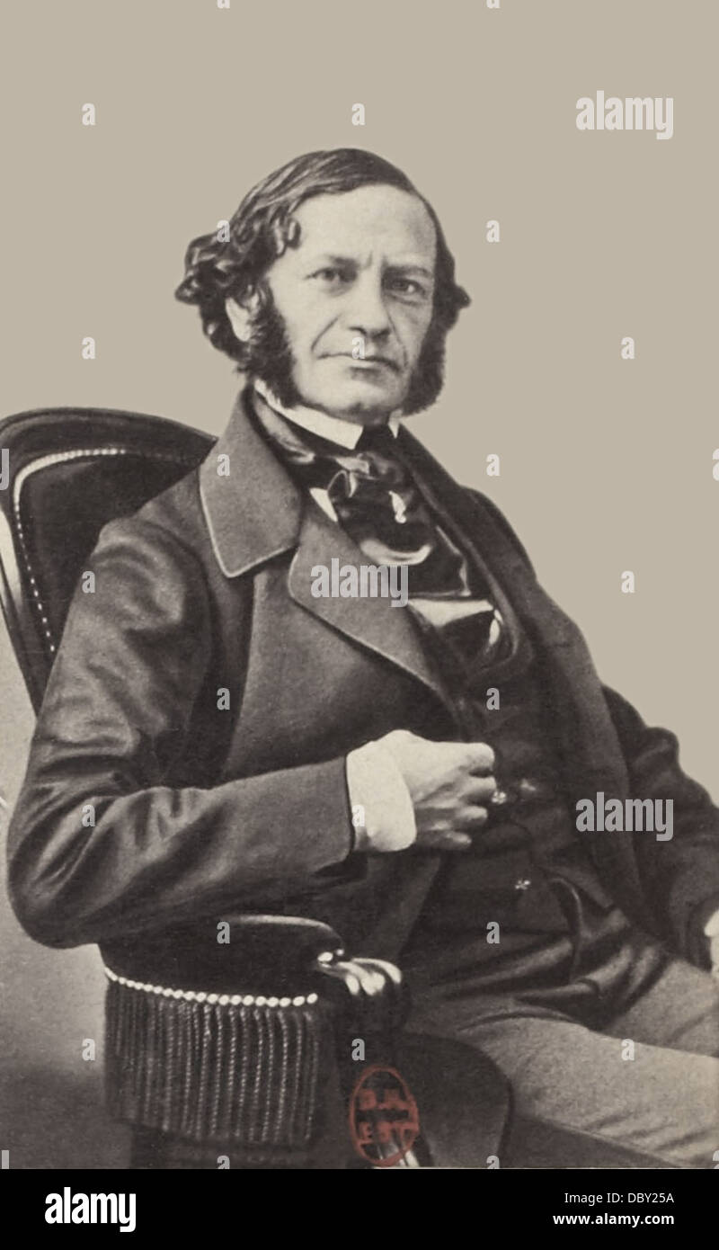 Henri Herz, (1803 - 1888), french pianist and composer, born austrian. - Stock Image