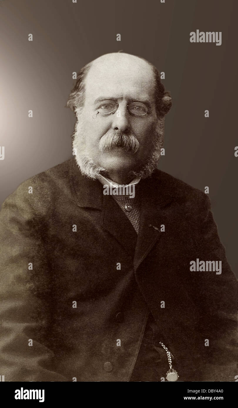 Charles Barbier de Meynard (1826 - 1908), french linguist, geographer and orientalist. - Stock Image