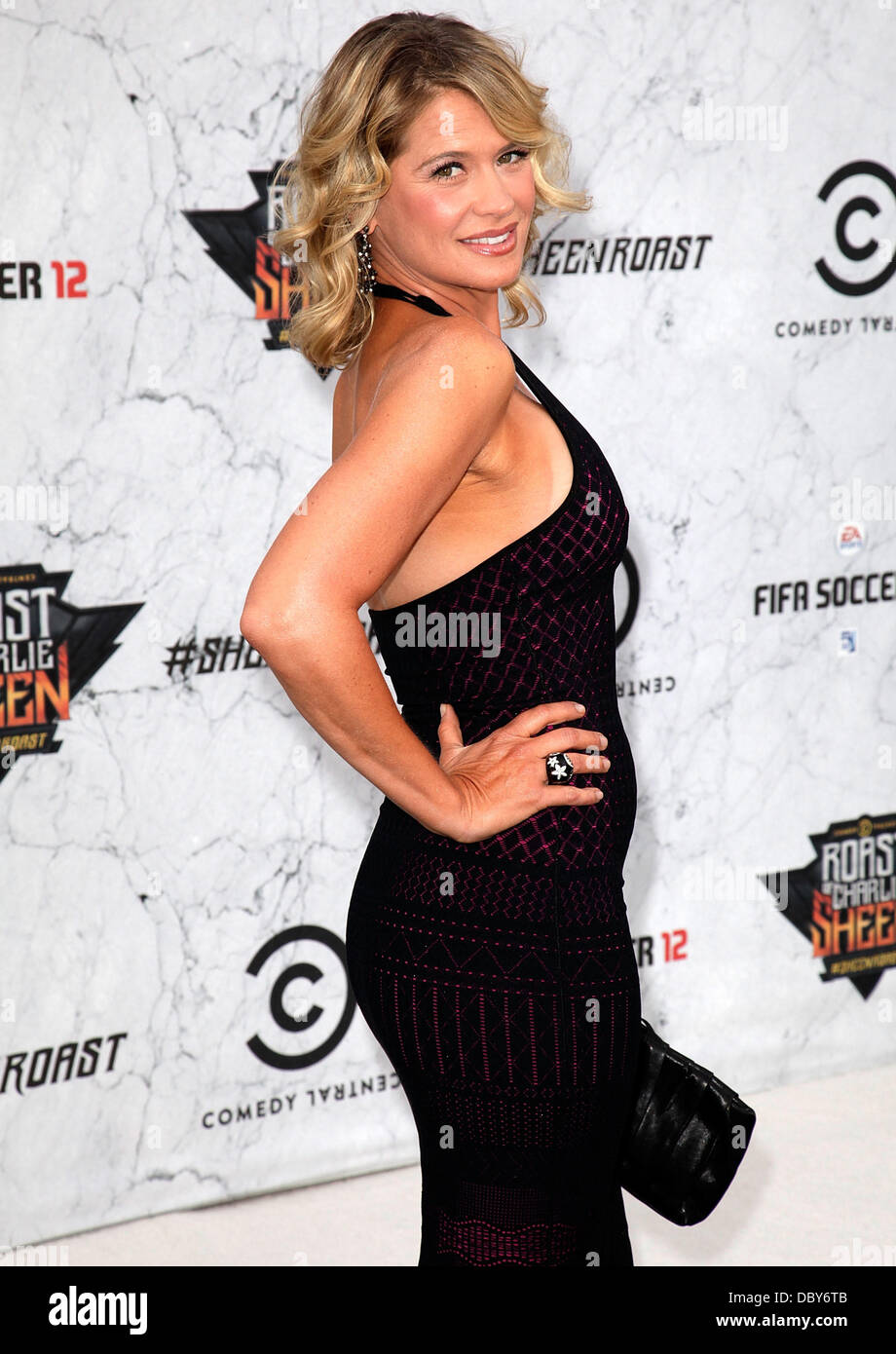 Kristy Swanson Comedy Central Roast Of Charlie Sheen - Arrivals held at Sony Studios Los Angeles, California - 10.09.11 - Stock Image