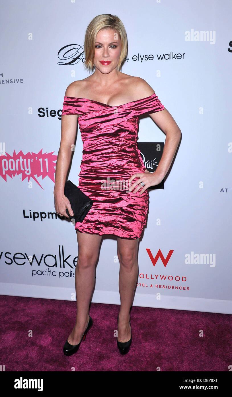 Kathleen Robertson Elyse Walker Presents Pink Party '11 To Benefit Cedars-Sinai Women's Cancer Program  - Stock Image